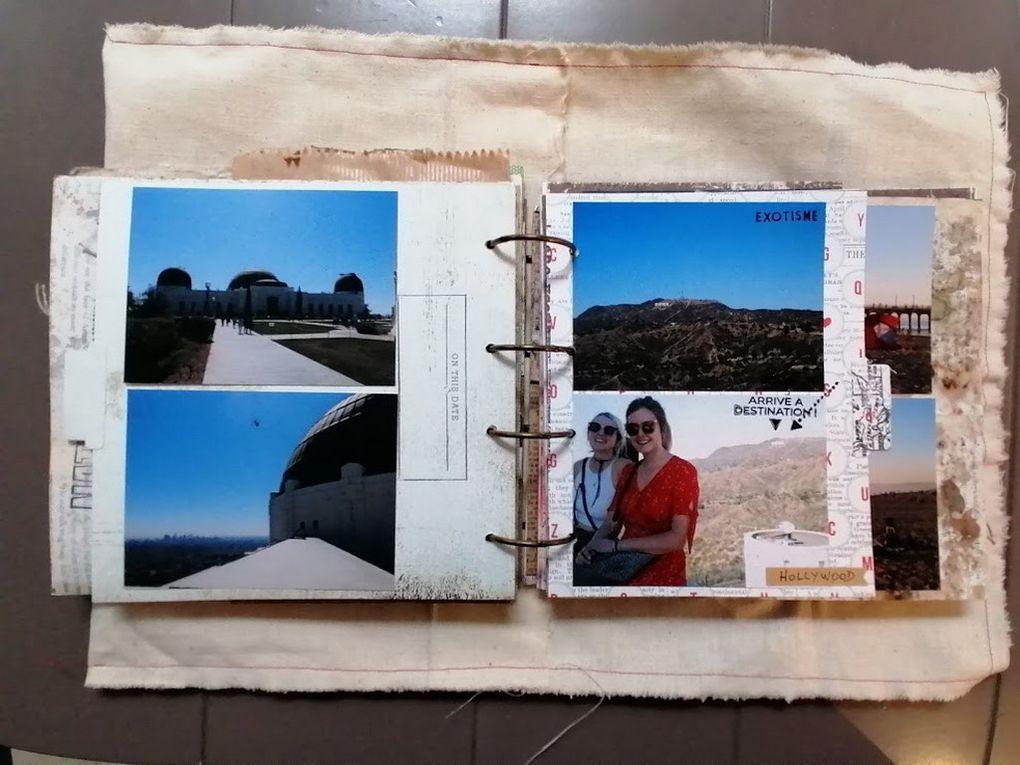 Mini Album Road Trip Californie