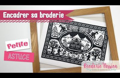 DIY : Do It Yourself : La finition de vos broderies