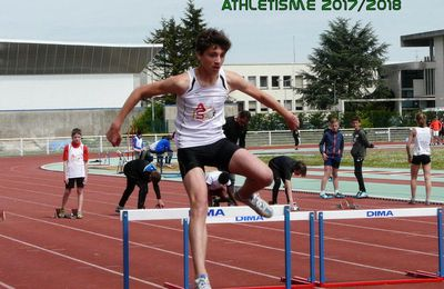 CHAMPIONNAT DEPARTEMENTAL ATHLETISME 2017/2018