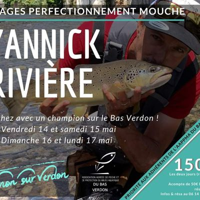 Stage Yannick Rivière mai 2021