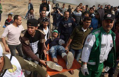 Pétition de l'AssociationFrancePalestine Solidarité; halte au massacre, envoi d'urgence d'un navire hôpital