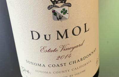 Sonoma coast Chardonnay Estate Vineyard 2014 Du Mol