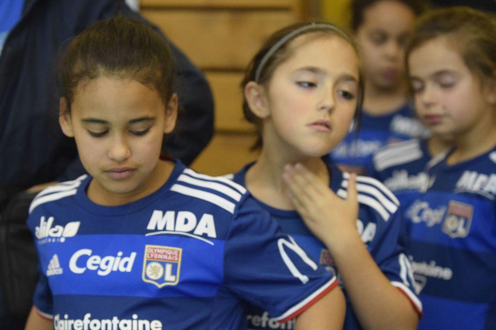 A noter la présence des équipes de l'OL féminin - Photos : © Djamel Younsi