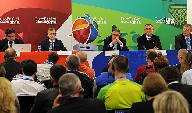 Eurobasket 2015 in Ukraine new logo launched