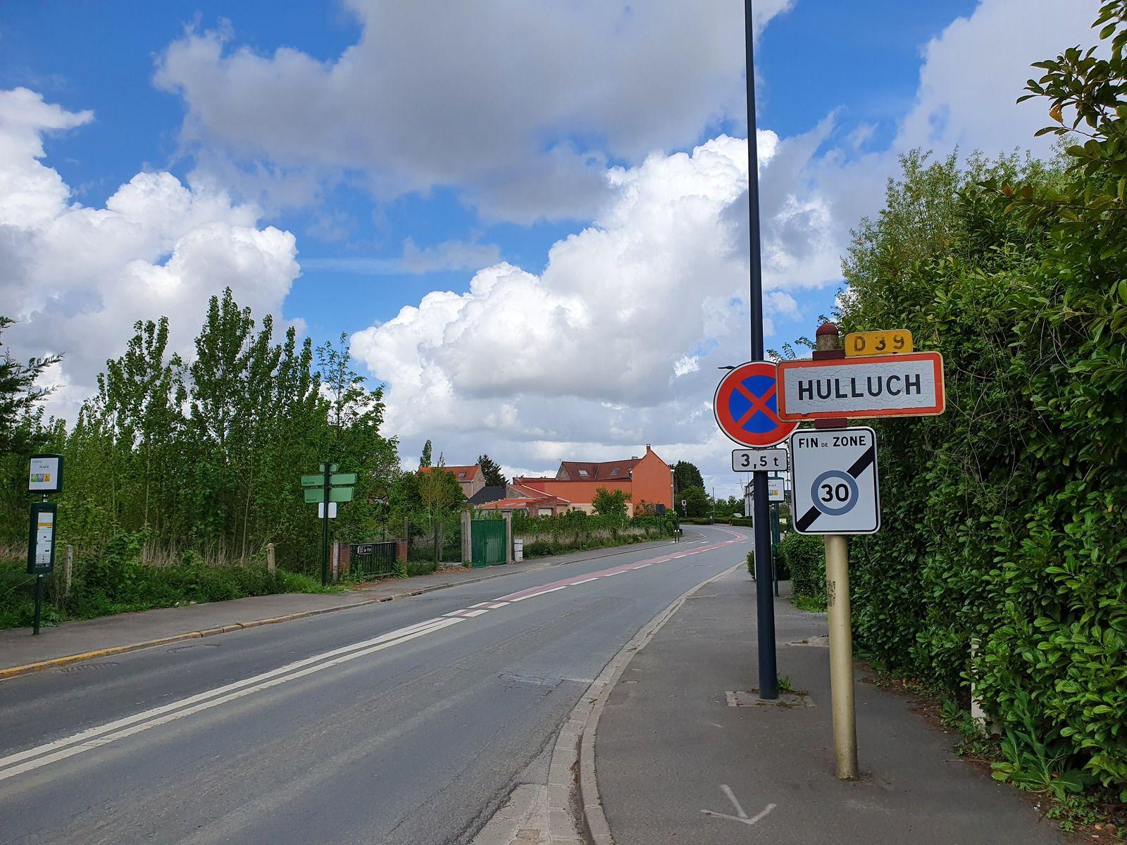 Rue Rayère, à Hulluch