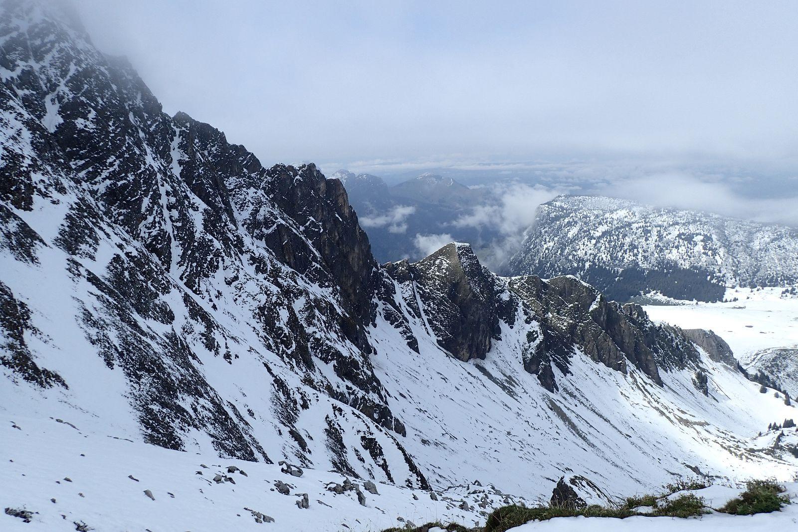 Col de Balafrasse + Lac de Peyre : Depuis le col de la Colombière