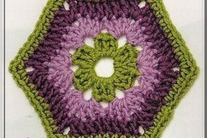 Crochet : Hexagone 5 & 6