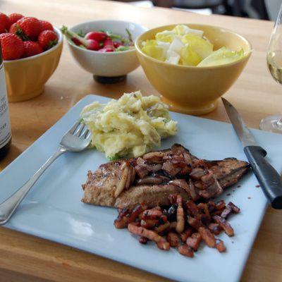 Comment préparer un foie de veau aux oignons rouges ? (ingrédients, préparation)