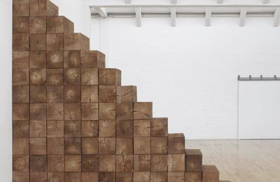 Triskaidek @ Carl Andre. 1979. NYC. ph. Bill Jacobson