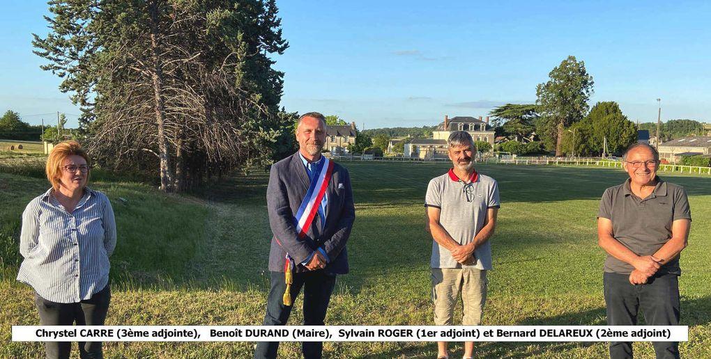 Les élus de Saint-Aubin-le-Dépeint