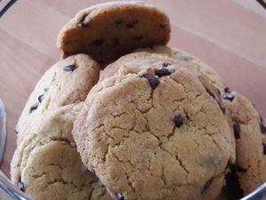 Cookies aux pépites de chocolat thermomix ou non