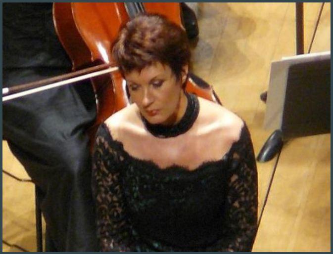 Waltraud Meier (Mort d'Isolde, Vier Letzte Lieder) à Pleyel