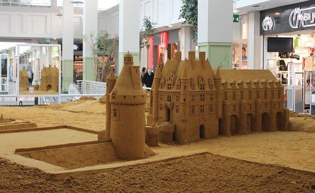 Le Château de sable de Chenonceau...