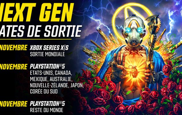 [ACTUALITE] Borderlands 3 - Annonces concernant les consoles de nouvelle génération