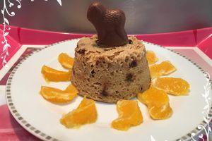 Bowlcake pomme & chocolat