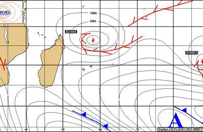 Cyclone: Actualité cyclonique lundi 18 janvier 2021
