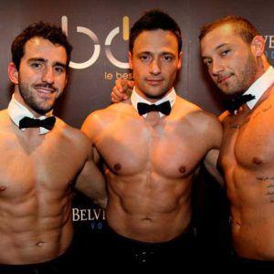 Striptease en Belgique avec les Passion Mens
