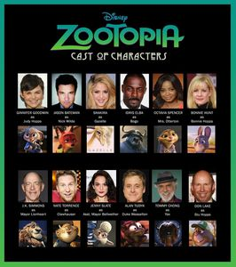 ZOOTOPIE de Byron Howard et Rich Moore (via Disney)