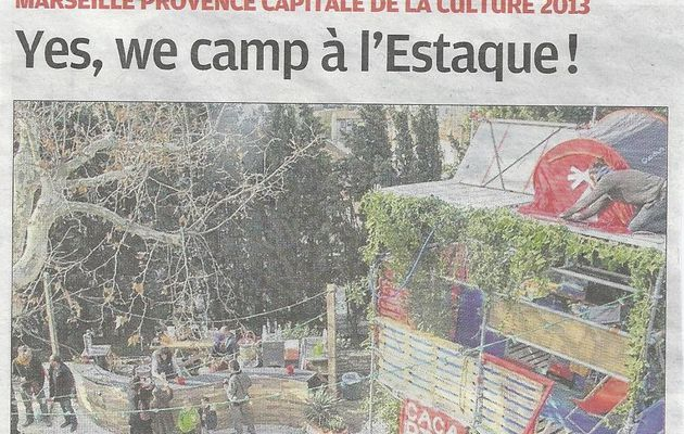 Un camping à l'Estaque !!!