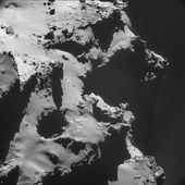 A Singing Comet by esaoperations