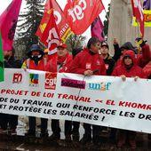 2000 personnes contre la loi travail dans les rues du Mans le samedi 9 avril - Syndicat CGT des Cheminots Actifs et Retraités de la Sarthe