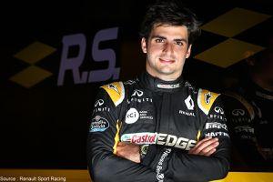Estrella Galicia suit Carlos Sainz chez Renault