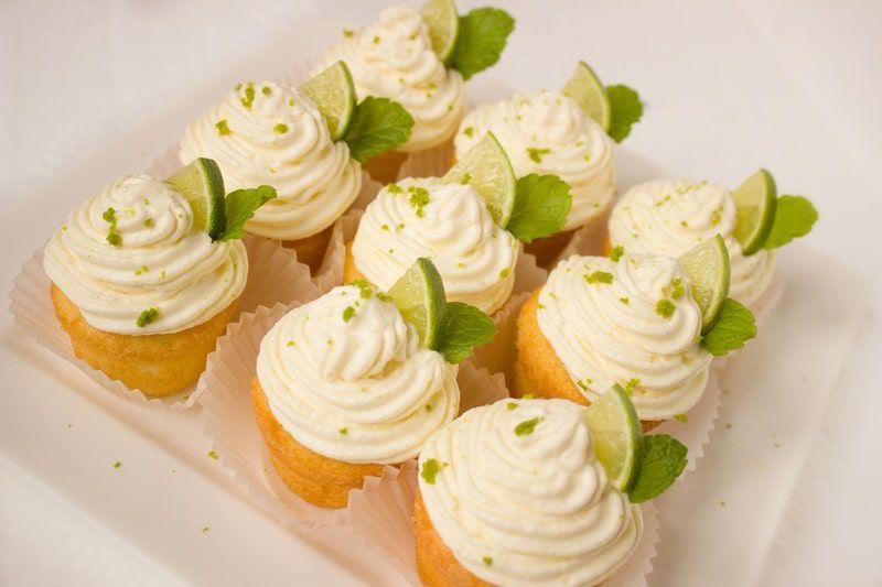 Cupcake all'arancia e mandarino (o limone)