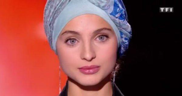"""mennel ibtissem, une chanteuse musulmane originaire de besançon candidate dans la sainson 7 de l'émission """"the voice"""""""