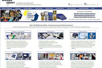 Kennzeichnung & Arbeitssicherheit: 36.000 Brady Artikel und mehr
