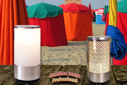 Midlightsun - Cordless table lamps for professionals