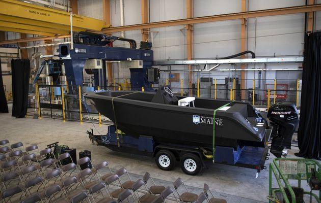 Des chercheurs fabriquent le plus grand bateau par impression 3D au monde