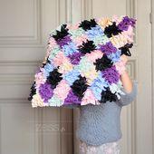 DIY : une housse de coussin boucherouite version couture - Zess.fr // Lifestyle . mode . déco . maman . DIY