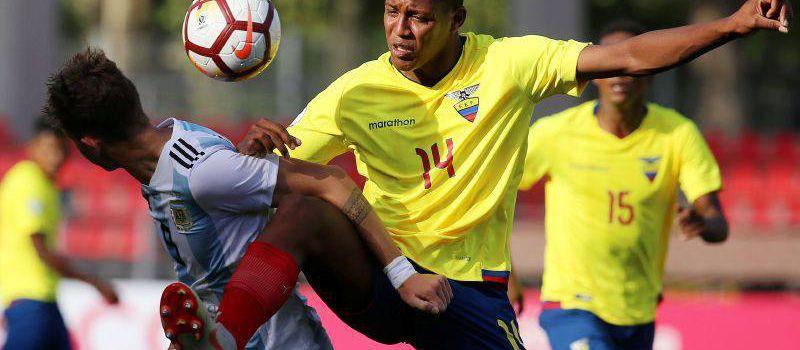 La Tricolor va por la clasificación ante Perú en Sub-20