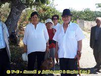 Visite  07 Juillet 2018 à Ongles (04) et dépôt de gerbes  le 08 Juillet 2018 au Mémorial National des Harkis à Jouques (13)