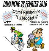 Randonnee VTT et Pedestre 'La Mogette', Chauche (Sortie VTT du 28/2/2016 / Ref. : 40178)