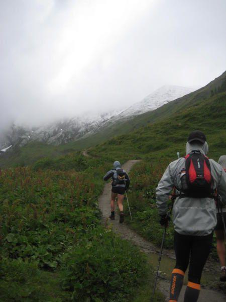 3ème jour du stage Raidlight entre Courmayeur et Champex par le Grand Col Ferret
