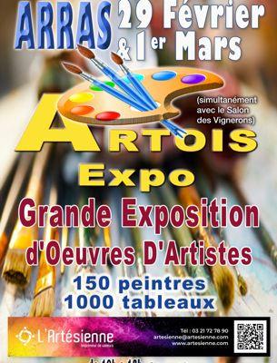 Exposition à Artois Expo