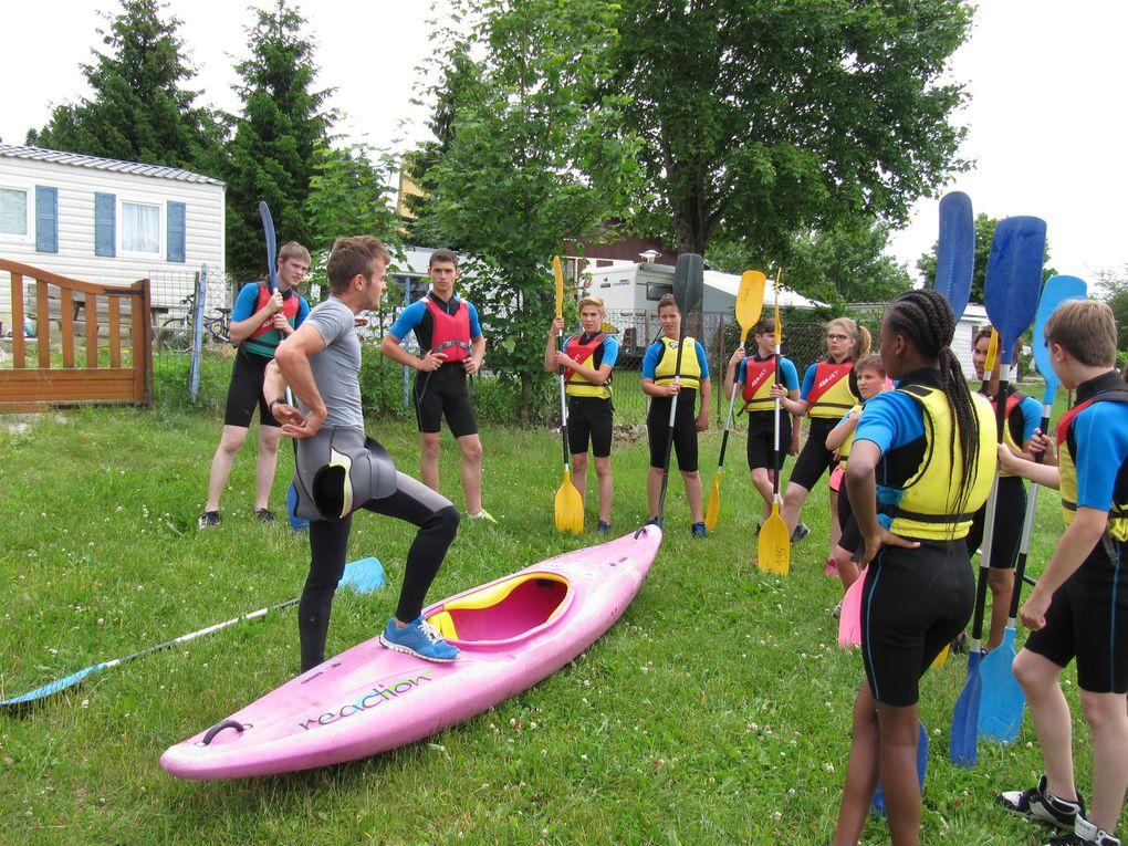 Sortie Kayak pour le groupe 4 le lundi après-midi