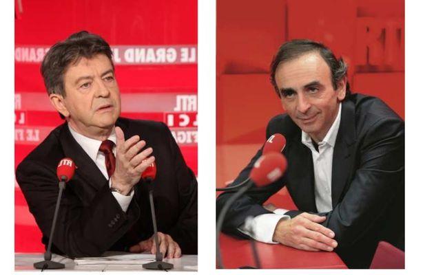 Débat entre Eric Zemmour et Jean-Luc Melenchon vendredi 12 décembre sur RTL
