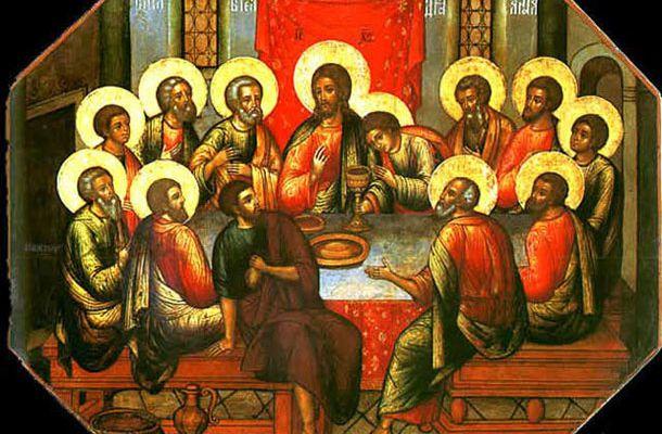 La Sainte Cène du Seigneur, homélie du Jeudi Saint.