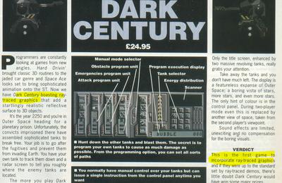 Du raytracing en 1990 sur Atari ST !