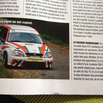 Rallye National du Pays Basque 2013