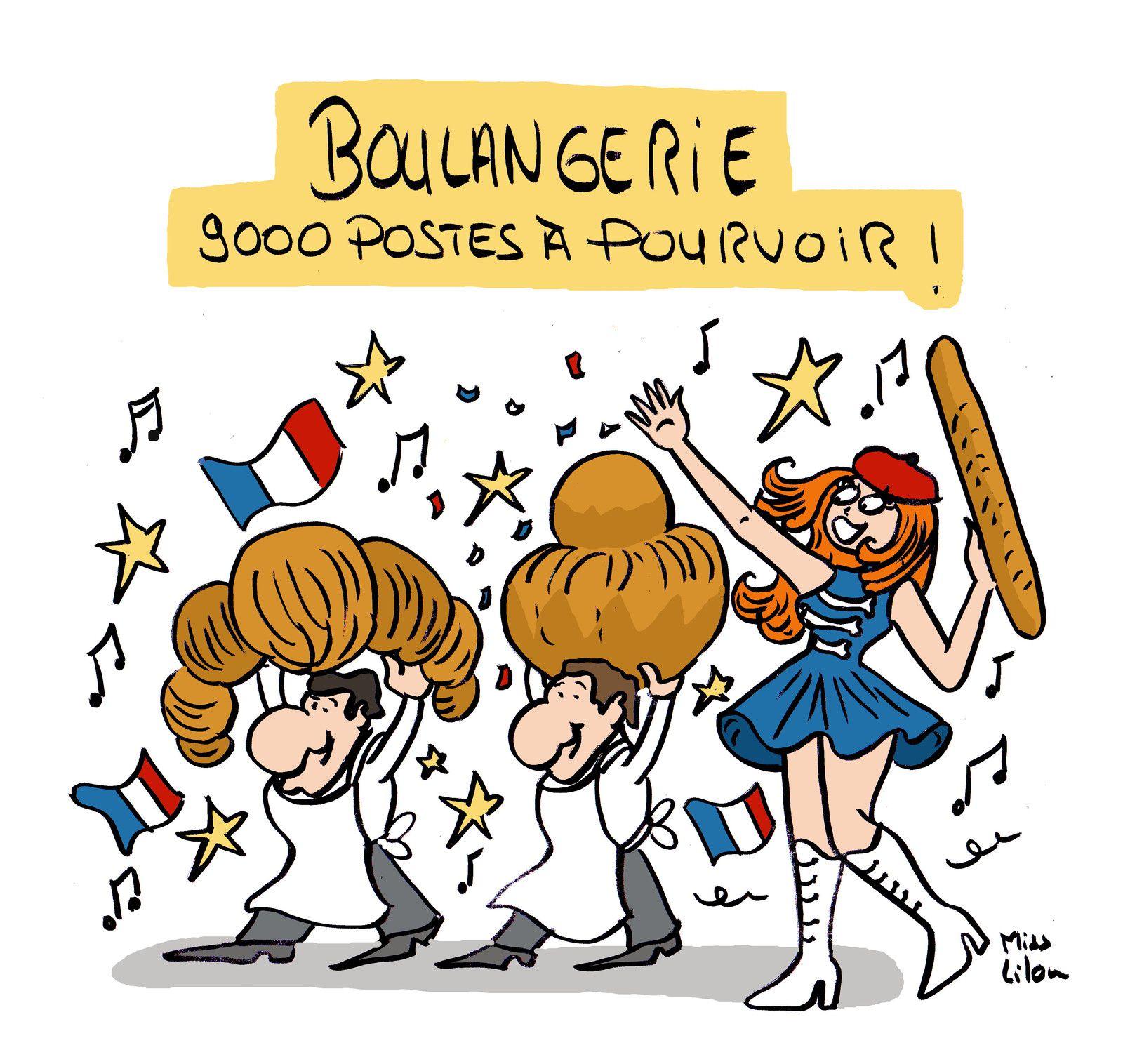 """""""Boulangerie : 9000 postes à pourvoir !"""""""