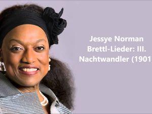 jessye norman, la disparition d'une cantatrice américaine, d'une soprano dramatique dotée d'une voix si imposante
