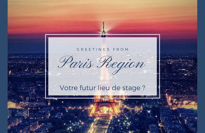 Offre de stage de 6 mois chez Choose Paris Region