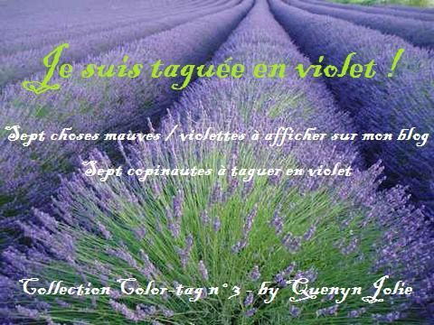 Tag en violet