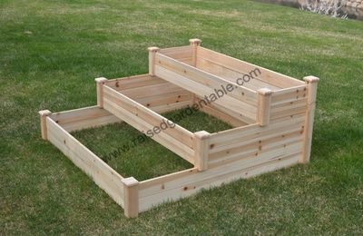 Waterfall Three Tier Raised Garden Beds