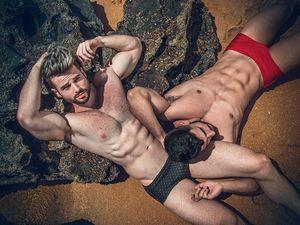 Leo et Guilherme par Leo Castro