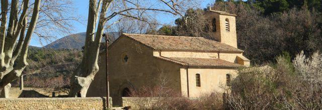 Le village de Vaugines (2) : l'église Saint Barthélémy / Balade dans le Vaucluse