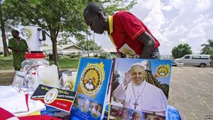 BBC - Pope in Africa hopes to bridge Christian-Muslim faultlines
